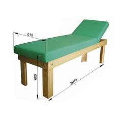 Кушетка процедурная деревянная Э-101-ПФК