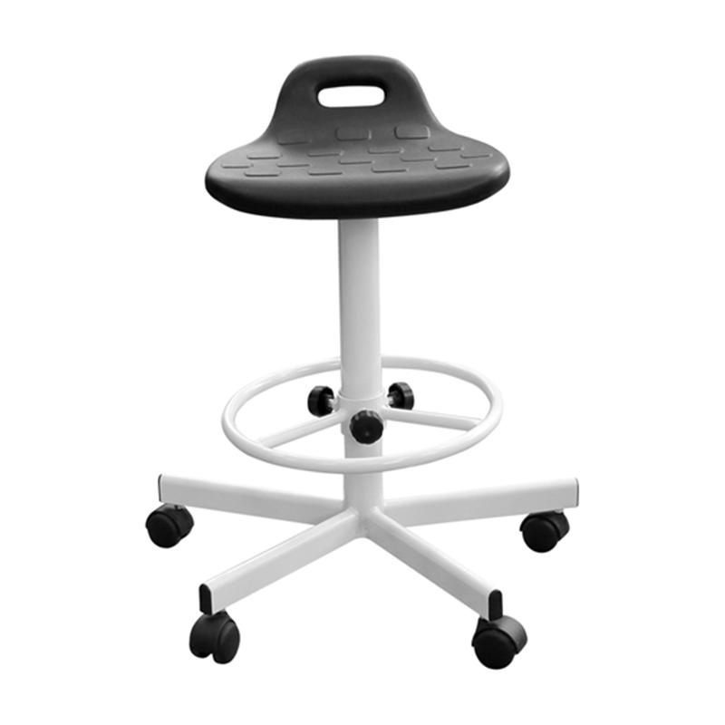 Табурет промышленный с полиуретановым сиденьем Т09/К прямоугольное фото
