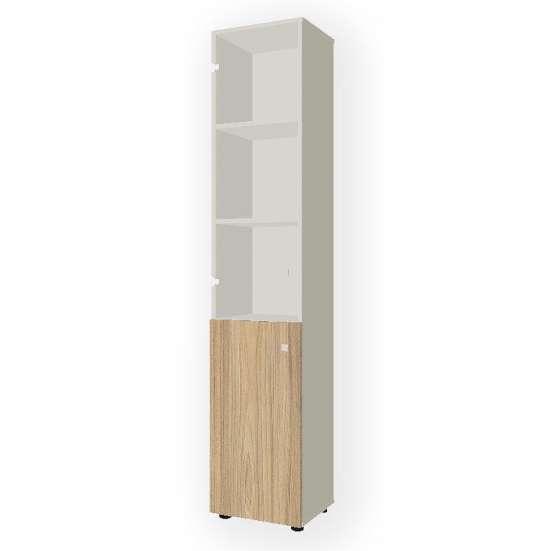 Шкаф комбинированный узкий R-45+R-7.1+R-02.1