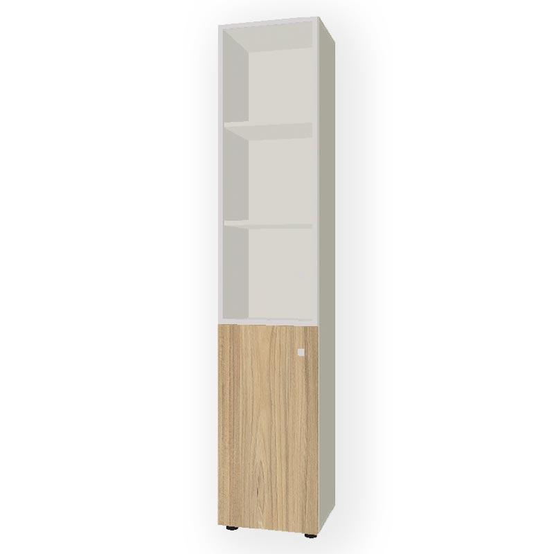 Шкаф комбинированный узкий  R-45+R-7.1+R-04.1