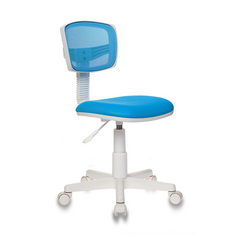 Детское кресло Бюрократ CH-W299 голубой