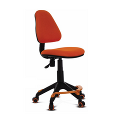 Детское кресло Бюрократ KD-4-F оранжевый
