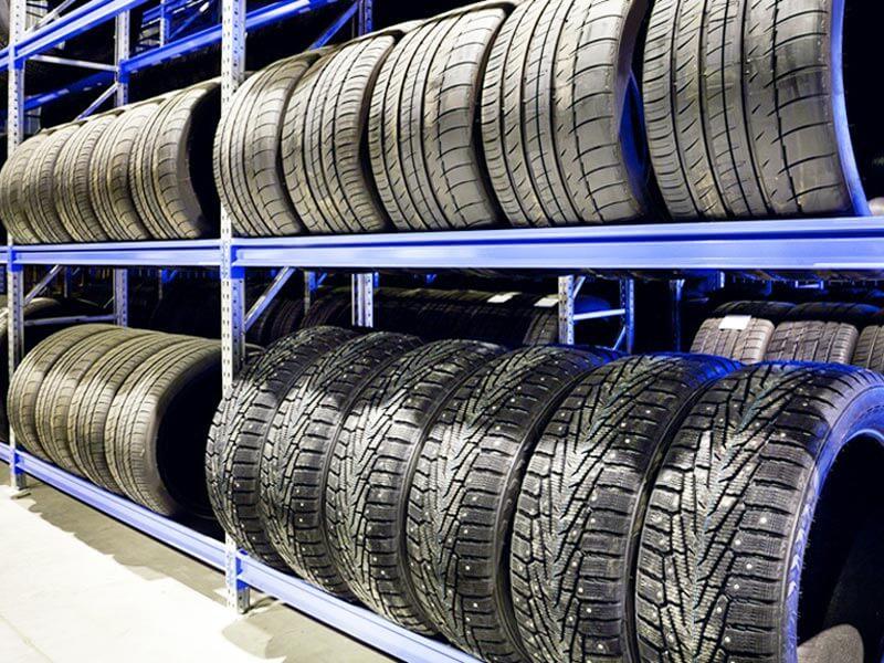 Стеллажи для колес и дисков